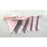 Lipukett roosa-ruuduline