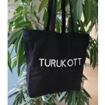 Must riidest kott Turukott