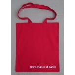 Punane riidest kott Dance