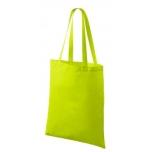 Väike riidest laimiroheline kott