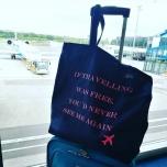 Tumesinine kott Travelling