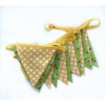 Lipukett kollane-roheline