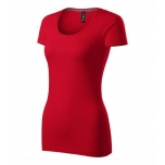 Lühikeste varrukatega punane naiste särk