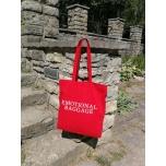 Punane riidest kott Emotional Baggage