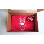 Kinkekomplekt lastele - t-särk, nimega jõulusokk ja jõulukuul