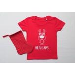 Kinkekomplekt lastele - t-särk ja nimega jõulusokk
