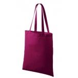 Väike riidest bordoopunane kott