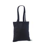 Väike must orgaaniline tekstiilkott