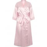 Naiste roosa hommikumantel