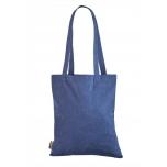 Sinine ümbertöödeldud puuvillast kott